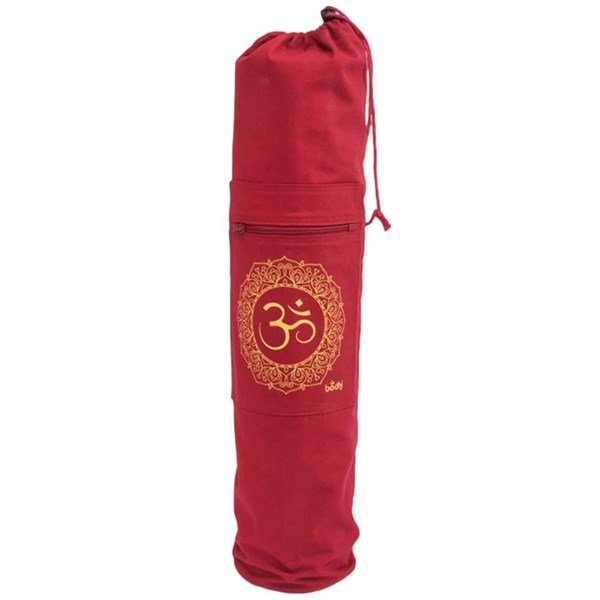 YOGISAN Yogatasche Ganesha / Om Print Red