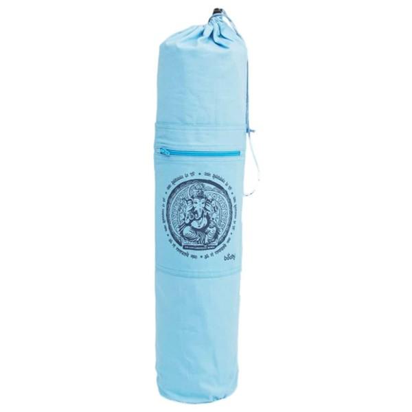 YOGISAN Yogatasche Ganesha / Om Print Blue