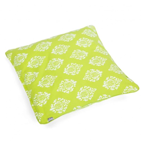 YOGISAN Kissenbezug Designer 50 x 50 cm Lime
