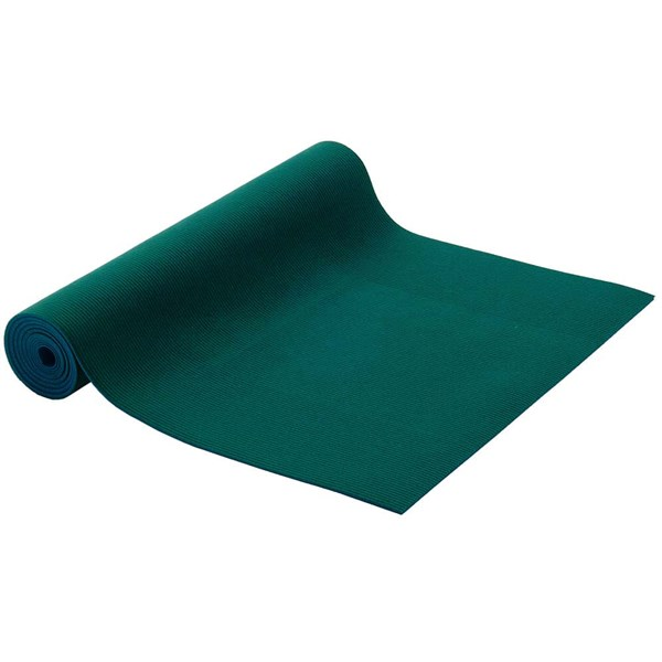 YOGISAN Pilatesmatte Sticky fleece 5mm Green