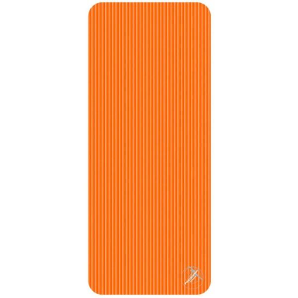 Trendy Sport: Fitnessmatte & Gymnastikmatte Fitnessmatte ProfiGymMat Pro 140 Orange, ca. 60 x 140 x 1 cm