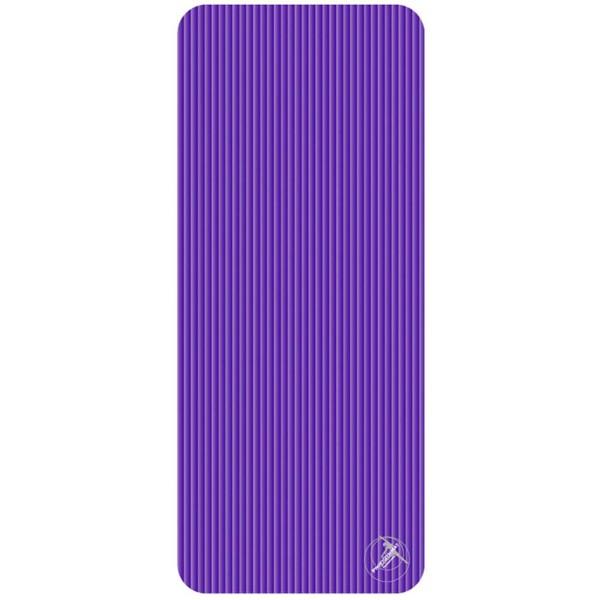 Trendy Sport: Fitnessmatte & Gymnastikmatte Fitnessmatte ProfiGymMat Pro 140 Violett, ca. 60 x 140 x 1 cm