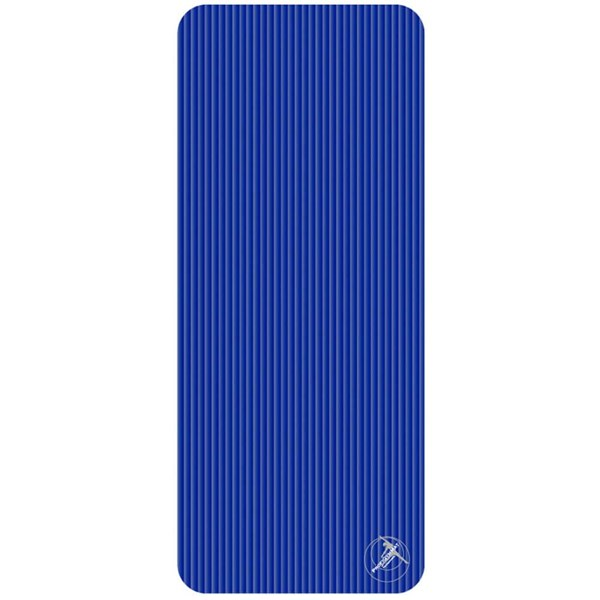 Trendy Sport: Fitnessmatte & Gymnastikmatte Fitnessmatte ProfiGymMat Pro 140 Blue, ca. 60 x 140 x 1 cm