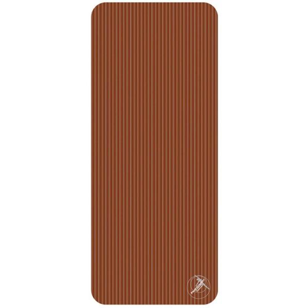 Trendy Sport: Fitnessmatte & Gymnastikmatte Fitnessmatte ProfiGymMat Pro 140 Brown, ca. 60 x 140 x 1 cm