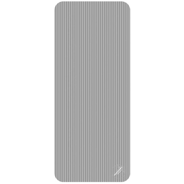 Trendy Sport: Fitnessmatte & Gymnastikmatte Fitnessmatte ProfiGymMat Pro 140 Grey, ca. 60 x 140 x 1 cm