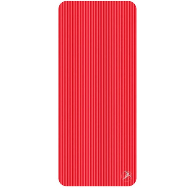 Trendy Sport: Fitnessmatte & Gymnastikmatte Fitnessmatte ProfiGymMat Pro 190 Red, ca. 80 x 190 x 1,5 cm