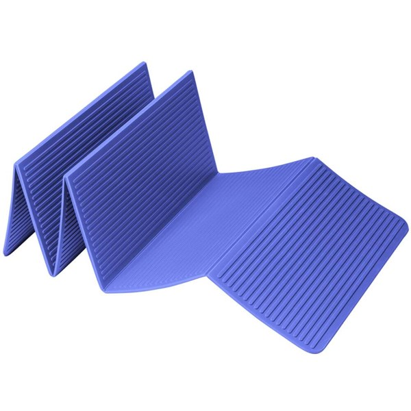 Trendy Sport: Fitnessmatte & Gymnastikmatte Faltbare Yogamatte ProfiFoldMat Blue, ca. 60 x 180 x 0,6 cm
