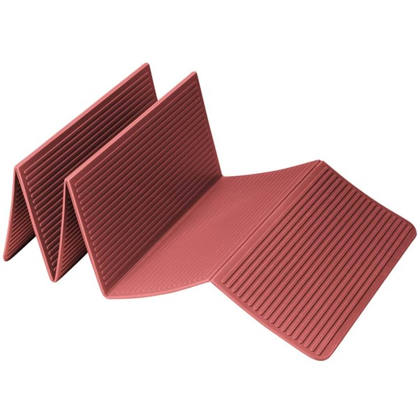 Trendy Sport: Fitnessmatte & Gymnastikmatte Faltbare Yogamatte ProfiFoldMat Red, ca. 60 x 180 x 0,6 cm