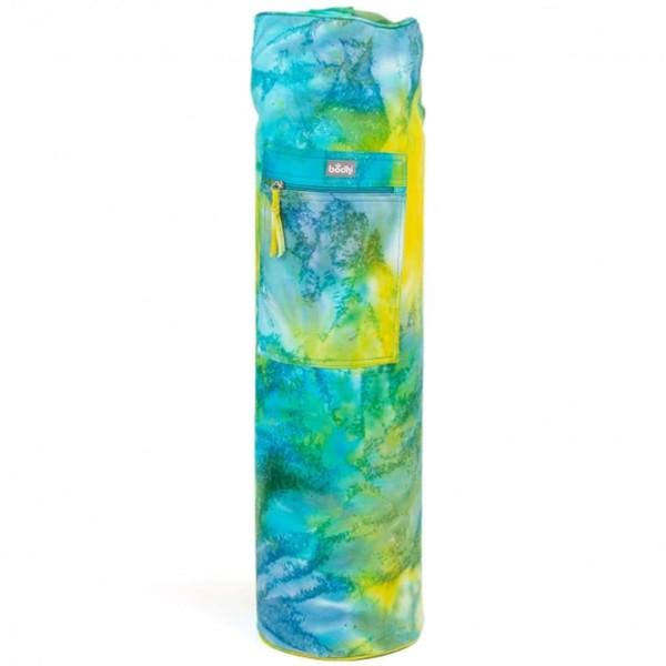 YOGISAN Yogatasche Batik Design Turquoise