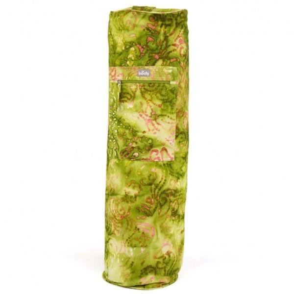 YOGISAN Yogatasche Batik Design Green