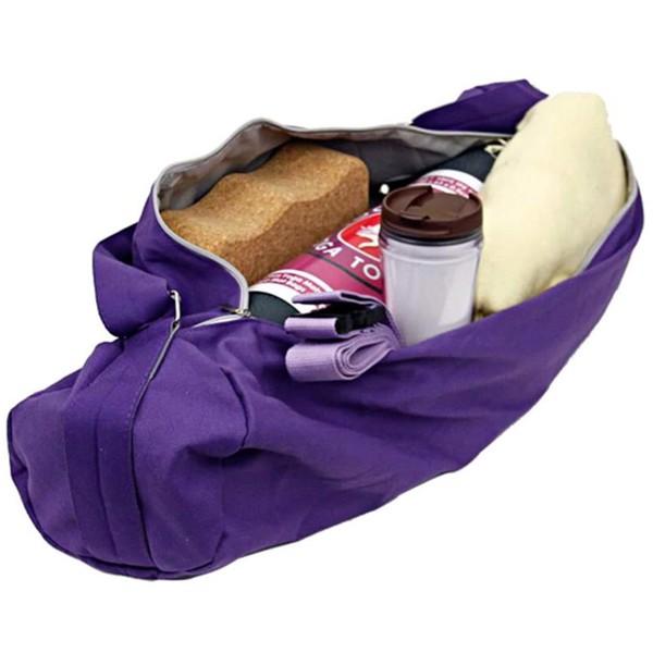 YOGISAN Yogatasche PRO Cotton Violett