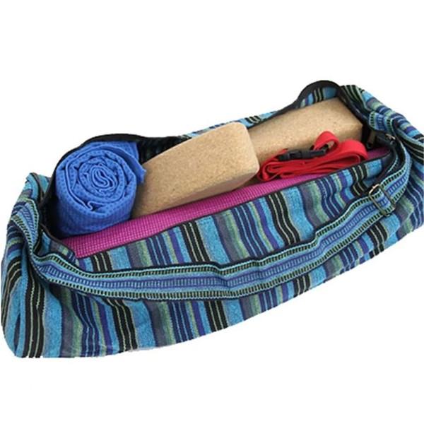 YOGISAN Yogamatten Tasche Stripes Blue