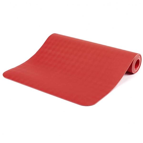YOGISAN Yogamatte Naturkautschuk Ultra Grip Pro Soft Red