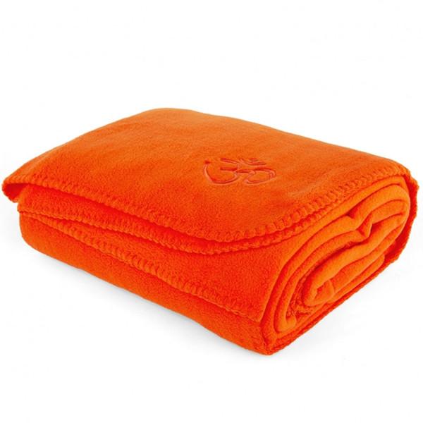 YOGISAN Yogadecke Asana-Yoga Om Orange