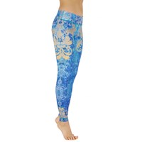 Bild von Yoga-Leggings Golden Leaves