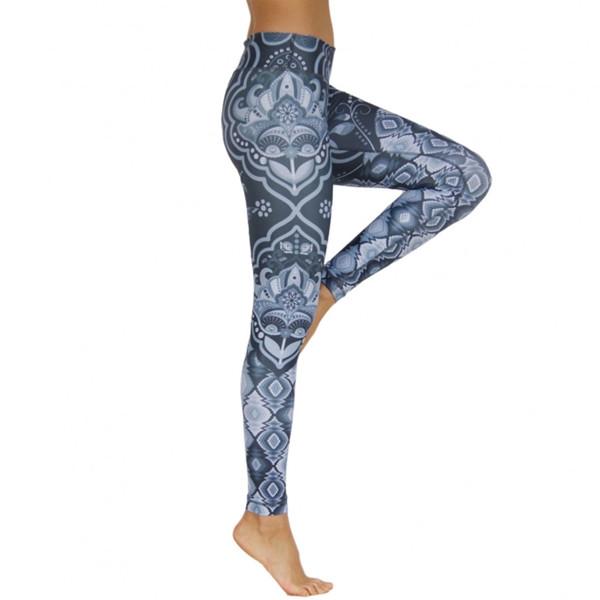 Niyama Yoga Pants & Leggings Yogahose Yin and Yang Black M