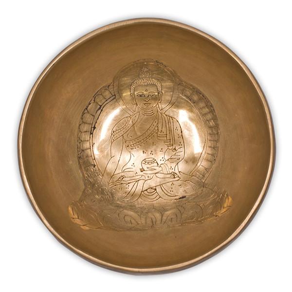 YOGISAN Klangschale Medizin Buddha 300-400g