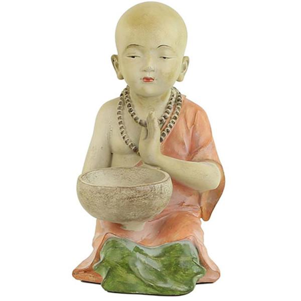 YOGISAN Kleiner Mönch mit Kerzenhalter