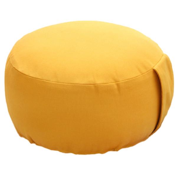 YOGISAN Yogakissen Premium Bio Baumwolle Yellow