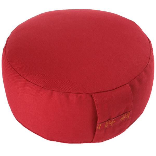 YOGISAN Meditationskissen Basic 10 cm Red