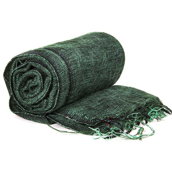 YOGISAN Yoga Schal für die Meditation Green