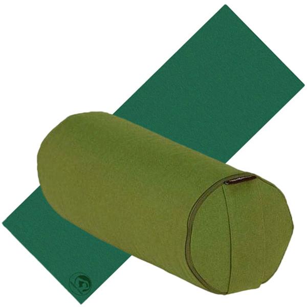 YOGISAN Yoga Set Yoga-Bolster YogaMat Pro