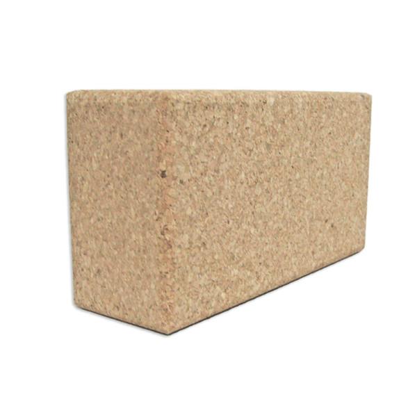 YOGISAN Yogashop Yoga-Block Naturkork XL