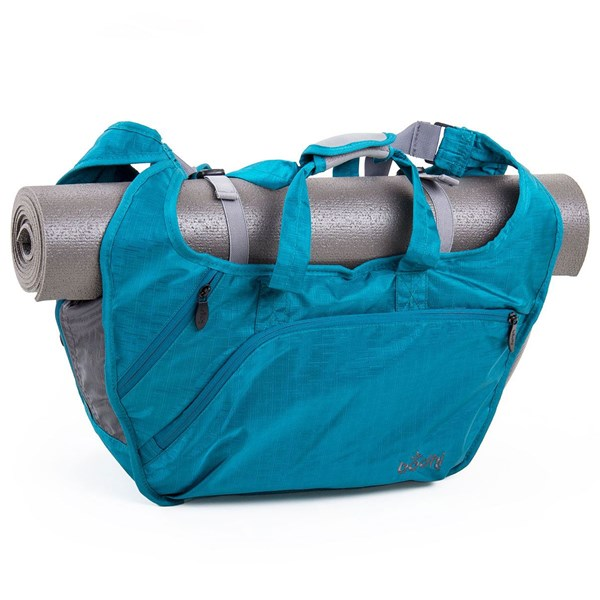 YOGISAN Yoga Tasche City Bag XL Petrol