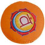 Chakra Meditationskissen mit Stickerei für mehr Achtsamkeit