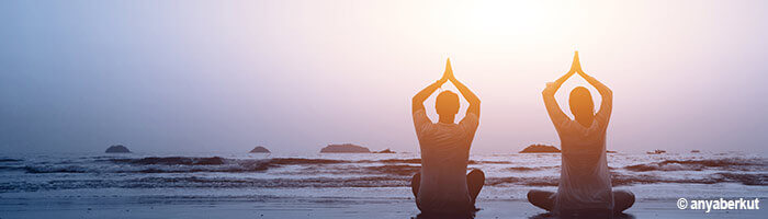 Yogaurlaub mit Reise Yogamatte aus Naturkutschuk