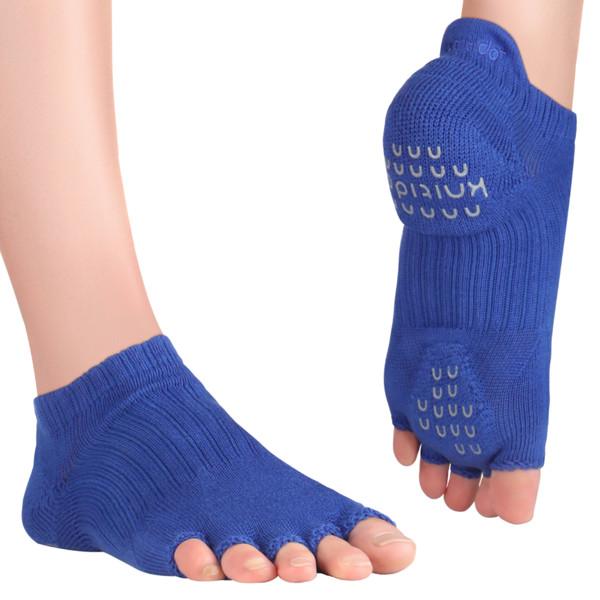 Knitido Zehensocken für Yoga und Pilates Yoga-Pilates Socken ABS Tani Blue, 39-42