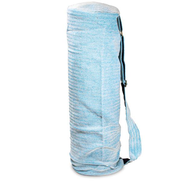 YOGISAN Yogatasche Pure Cotton Style Blue