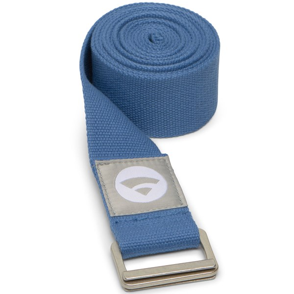 YOGISAN Yogagurte Cotton Lotus Asana Blue