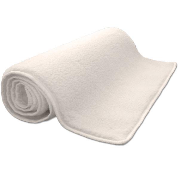 Yogamatte Schurwolle YogiSan umsäumt Hochflor (KHF)