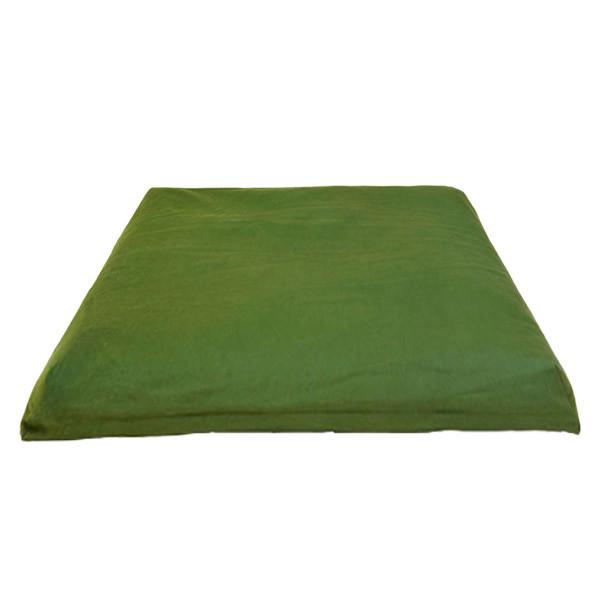 YOGISAN Zabuton Meditationsmatte YogiZen Green, ca. 80 x 80 x 5 cm