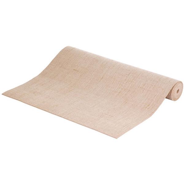 YOGISAN Yogamatte Jute PER Pro sand, ca. 61cm x 183cm x 4mm