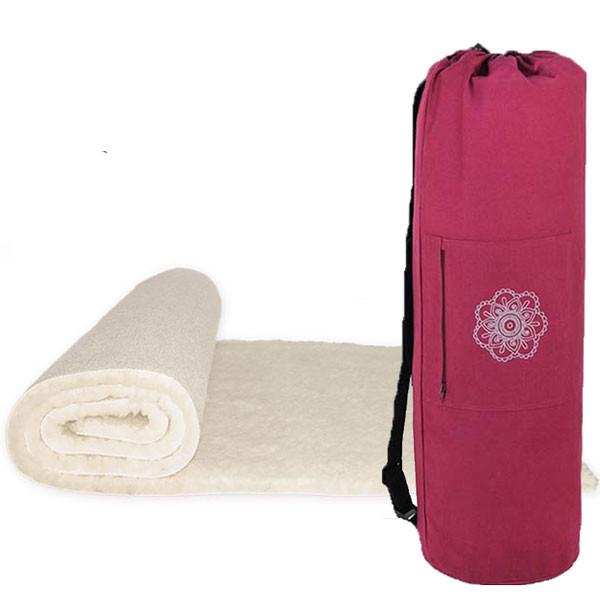 YOGISAN Yogashop Yogamatte YogiPure mit Tasche