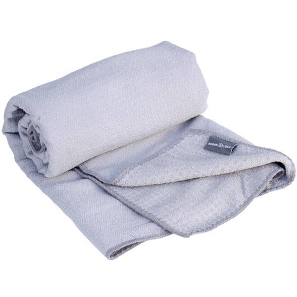 YOGISAN Yogatuch Extra Grip mit Noppen ca. 61cm x 183cm, Grey