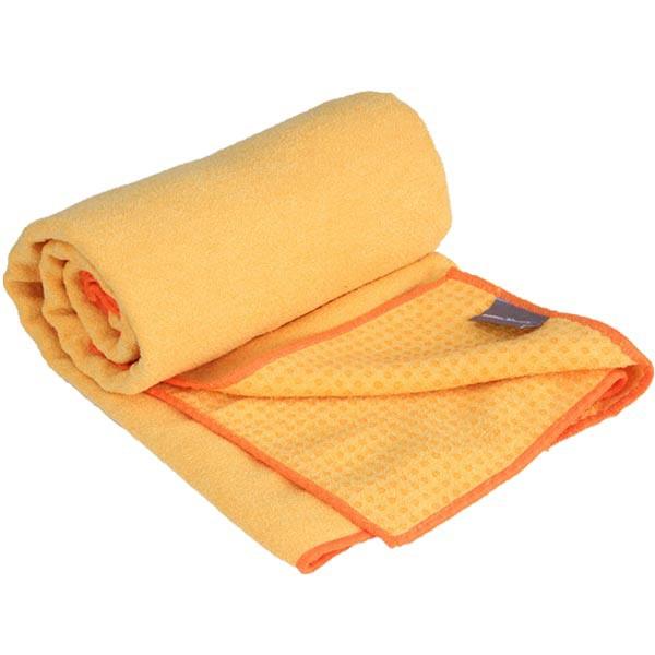 YOGISAN Yogatuch Extra Grip mit Noppen ca. 61cm x 183cm, Yellow