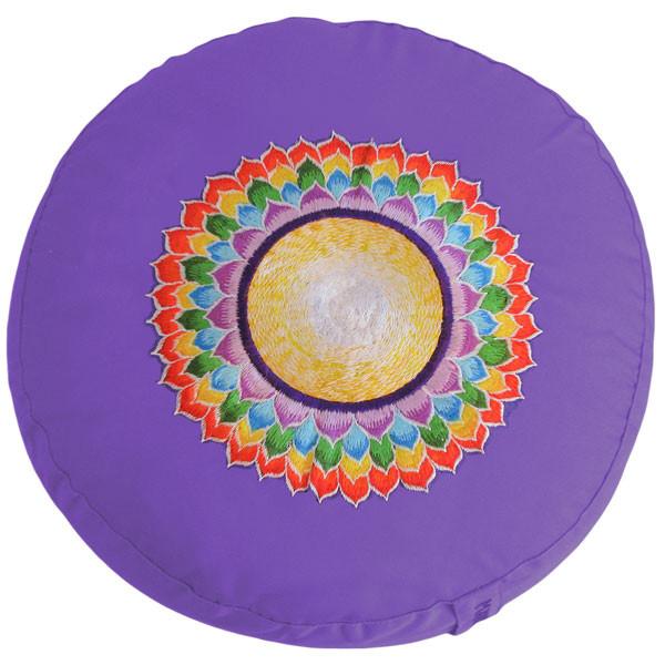 YOGISAN Ersatzbezüge für Yogakissen YogiChakra Chakra 7