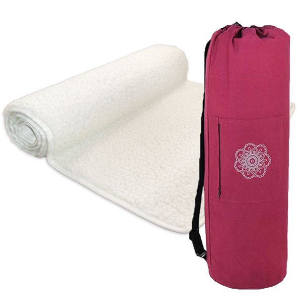 YOGISAN Yogashop Yogamatte YogiLotus mit Tasche