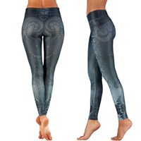 Bild von Yoga Leggings Maori Magic