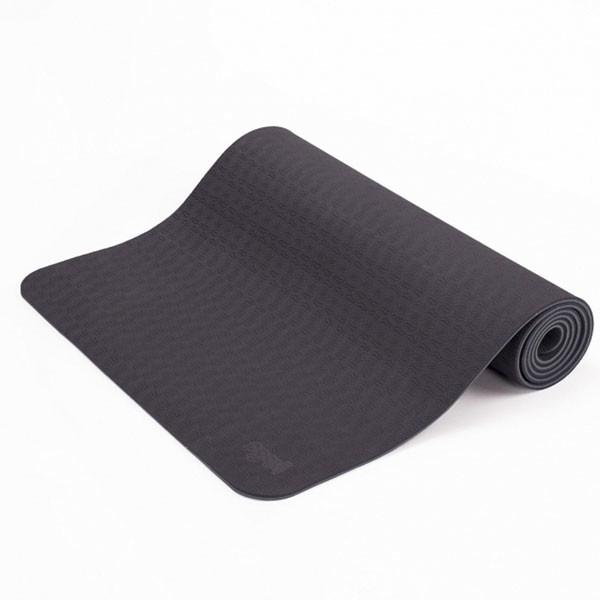 YOGISAN TPE Yogamatte recycelbar Black
