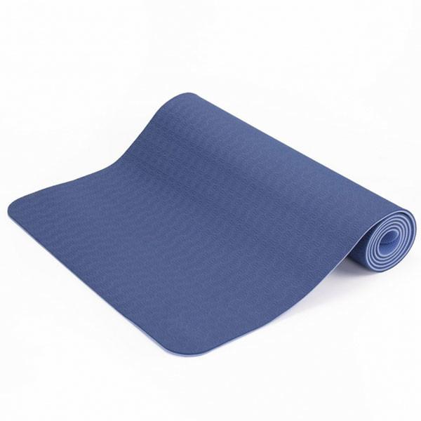 YOGISAN TPE Yogamatte recycelbar Blue