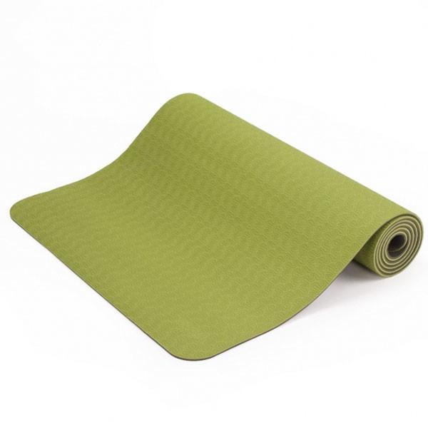 YOGISAN TPE Yogamatte recycelbar Green