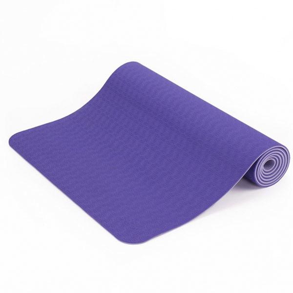 YOGISAN TPE Yogamatte recycelbar Lilac