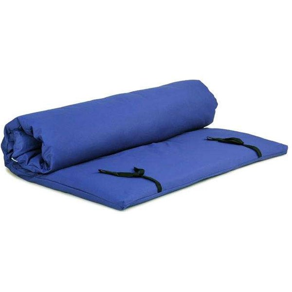 YOGISAN Shiatsu Matte / Futon mit Bezug Blue