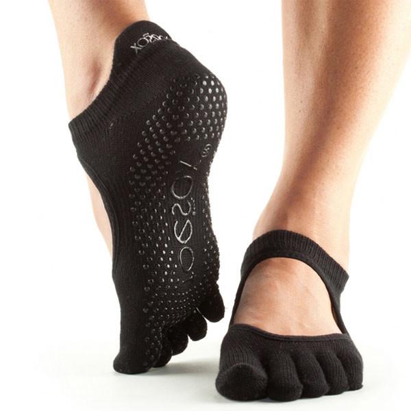 YOGISAN Yoga Socken Ballerina mit Noppen Ballerina, L