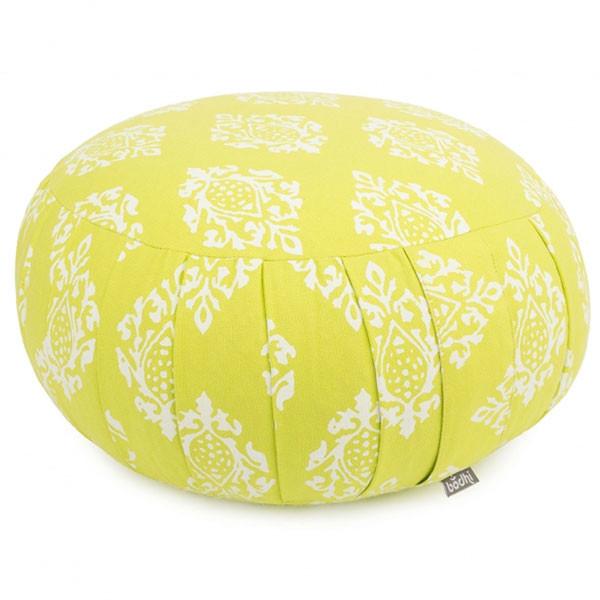 YOGISAN Zafukissen Design Dinkelspelzen Lime