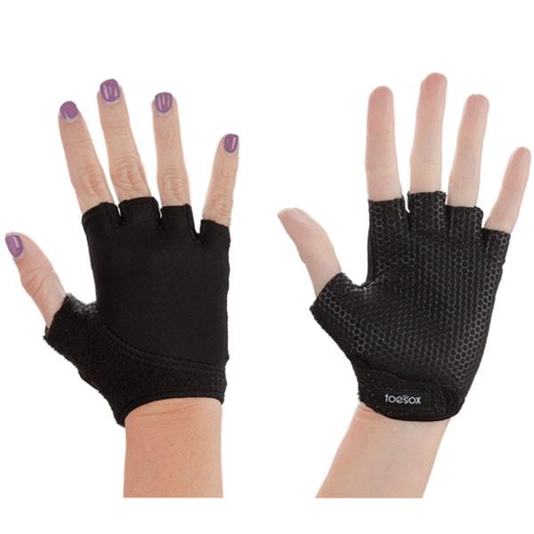 YOGISAN Yoga Handschuhe mit Grip rutschfest M